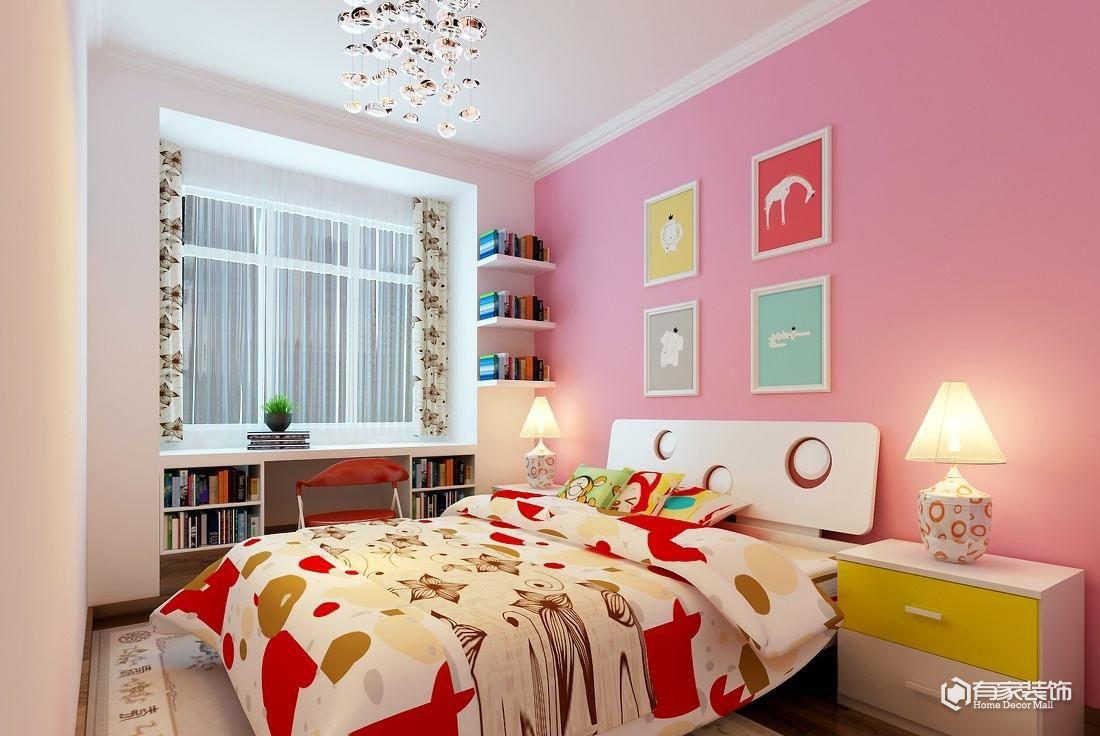 不同性別的小孩 兒童房裝修也不同