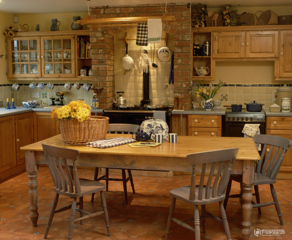一間時尚又干凈廚房該如何裝修?