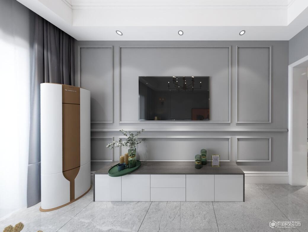 家中的電視背景墻裝修哪種材質更好?
