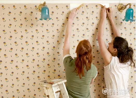 自行動手貼壁紙技巧  你get到了嗎