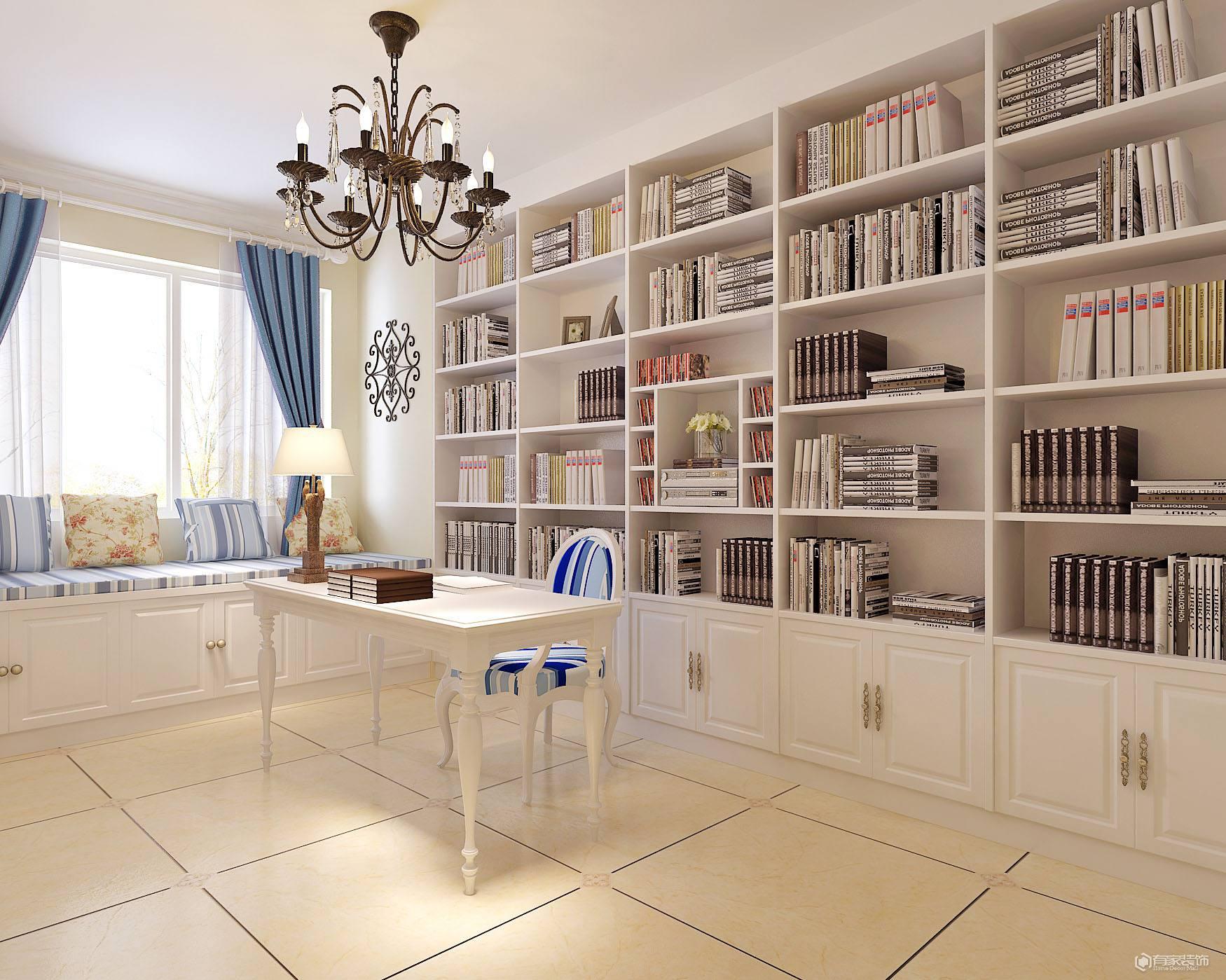 100平米的房子要怎么做好書房裝修設計