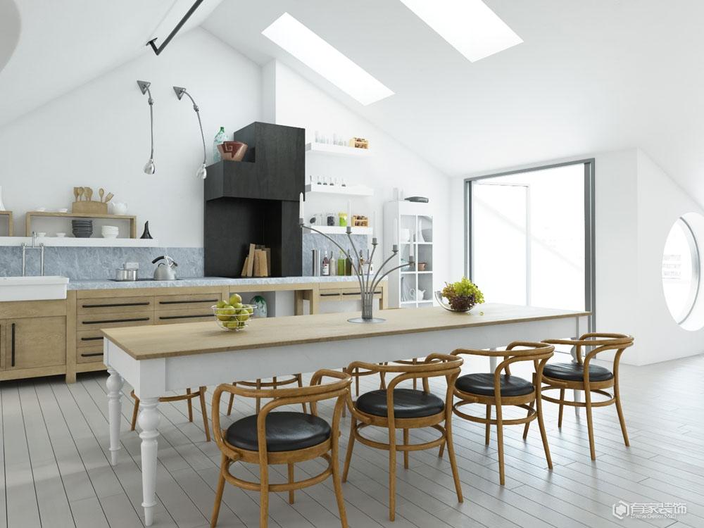 学会这些厨房装修技巧  让厨房使用更人性化