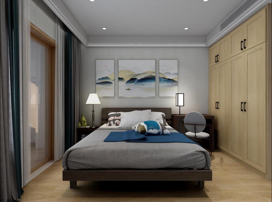 蓝城兰园130平多居室其他风格装修效果图