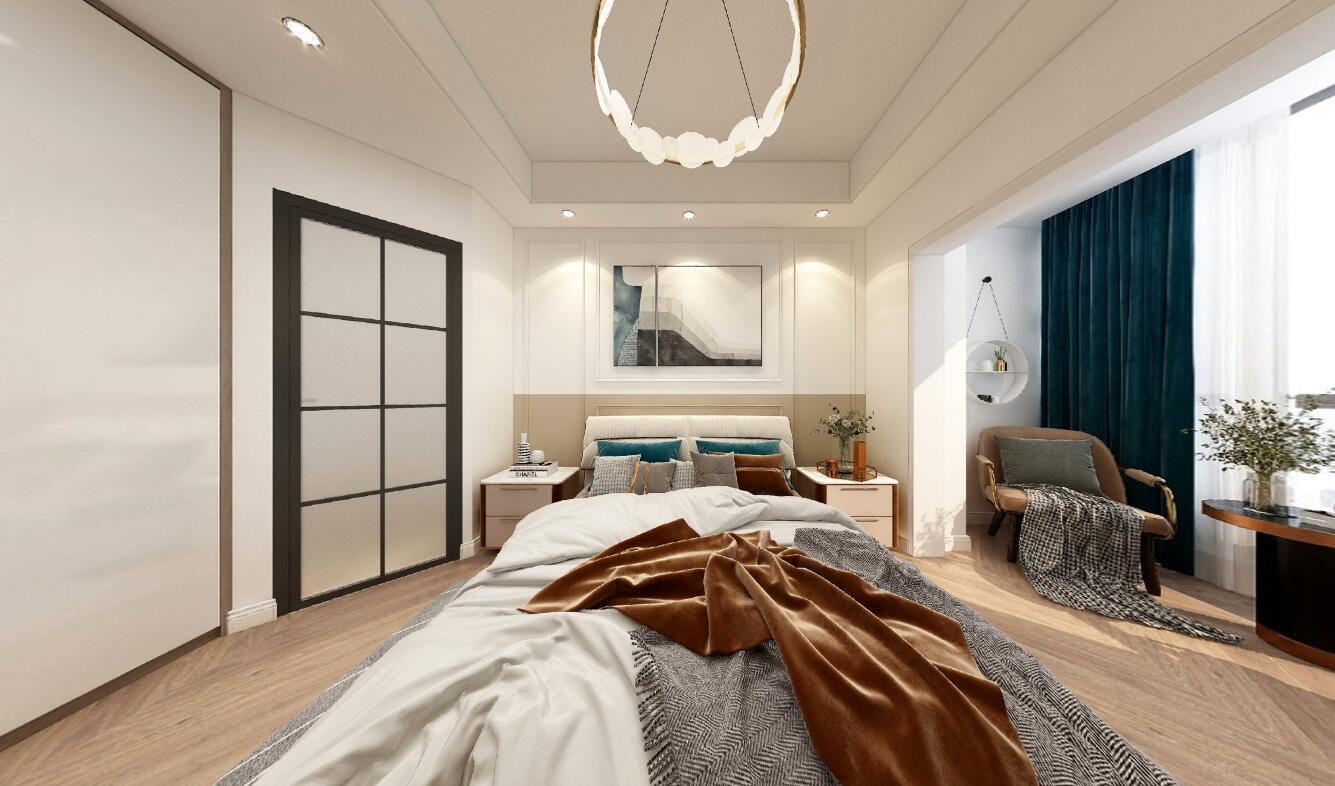 興港和昌云著96平三居室其他風格裝修效果圖