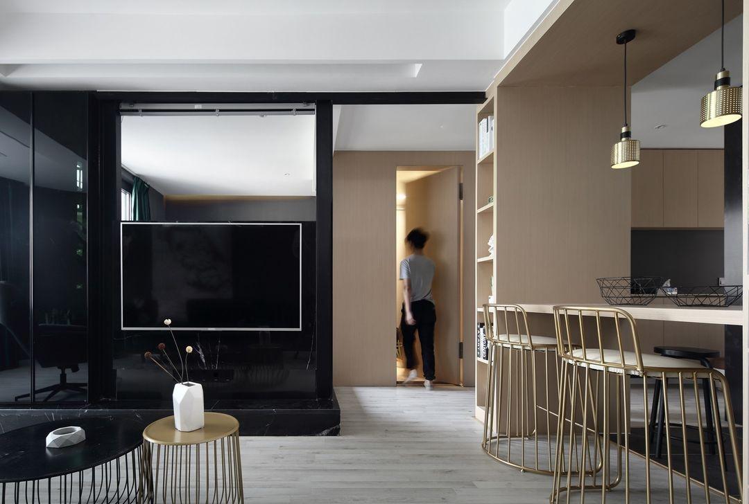 魯能公館兩居室裝修  空間有限,設計無限。