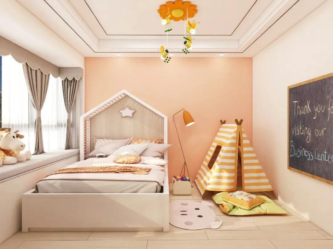 【儿童房装修】既要颜值在线,又要健康环保