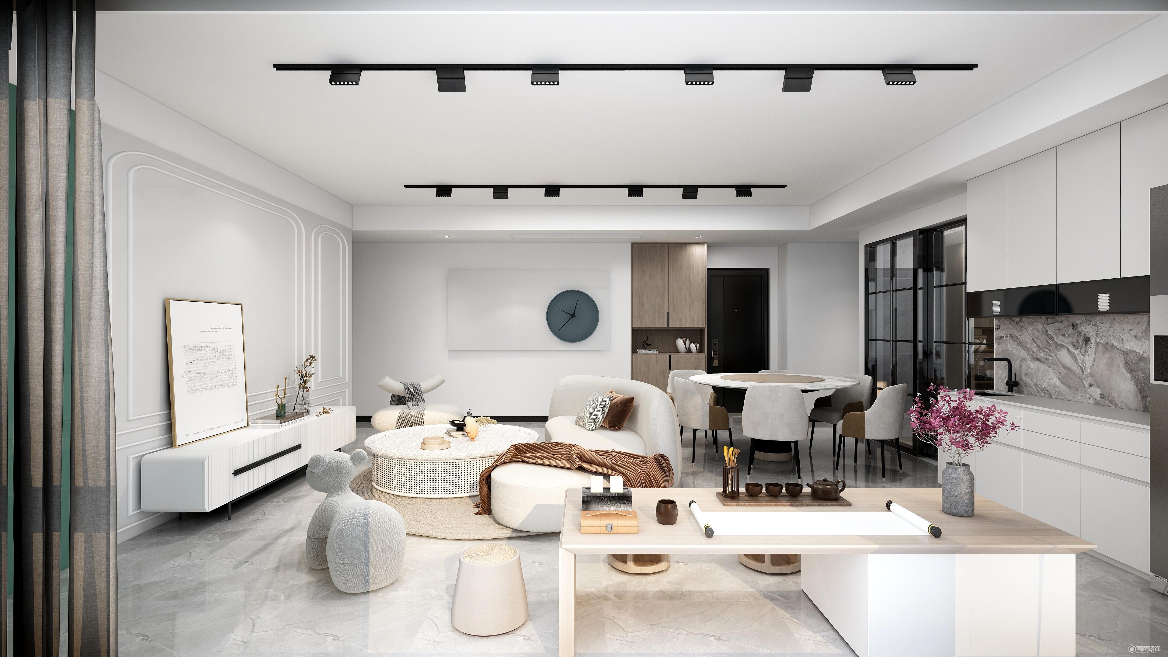大戶型房子的客廳如何裝修更合理