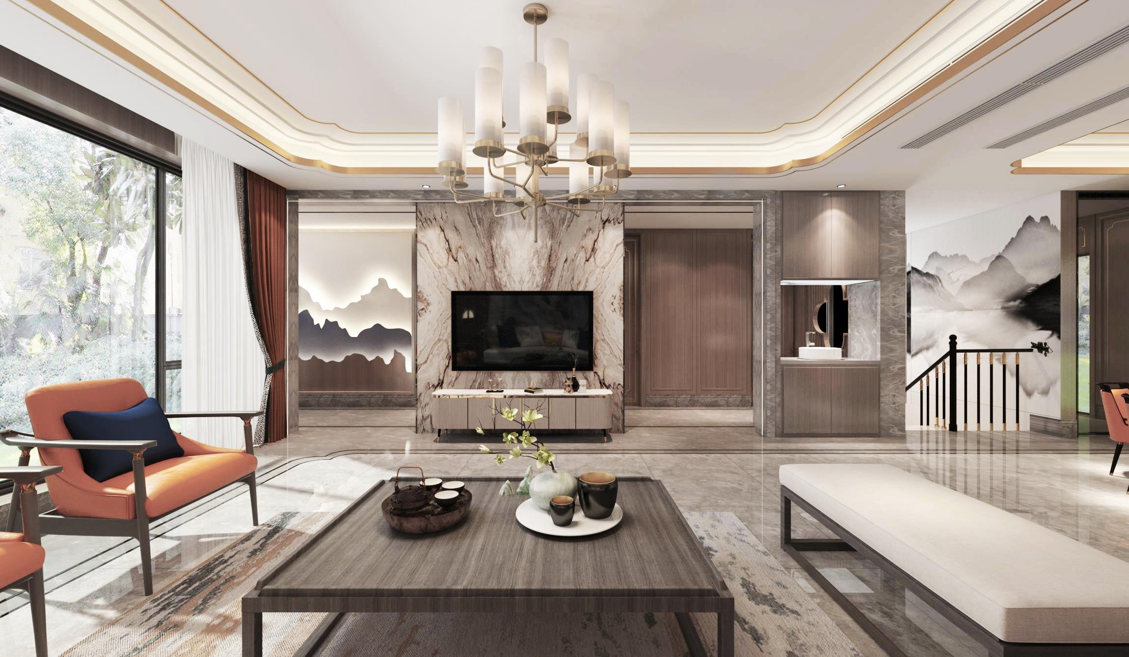 别墅混搭装修风格 寻觅极简化的高品质生活