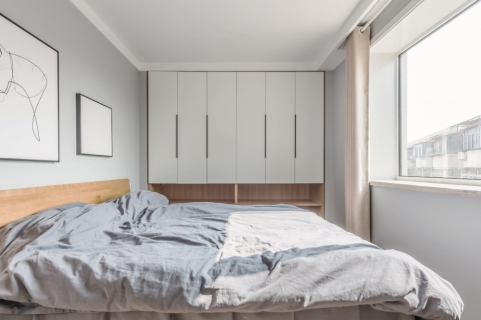 保利和光塵樾三居室裝修  溫暖新居就此誕生