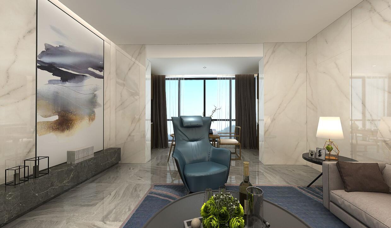 建发央著装修  简与繁,营造出层次分明的空间感。