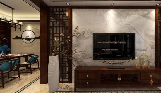 保利香檳國際業主是個事業有成的成功人士,喜歡中式的雅韻、大氣。