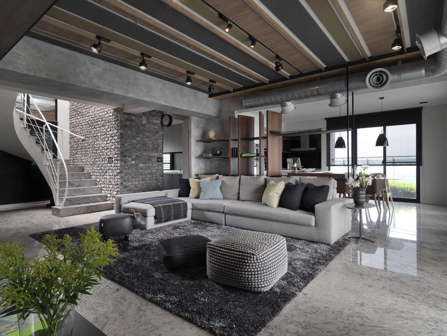 阳光城檀悦:被酷酷的工业元素装饰的家  又飒又随和