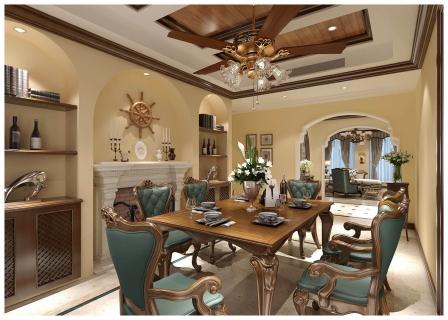 保利西江林语167平米装修  像极了美剧里的家