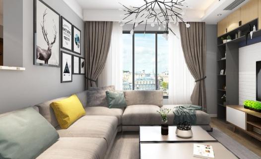 新榕金城灣29#業主的【惜有】新家   北歐風格包圍著整個家