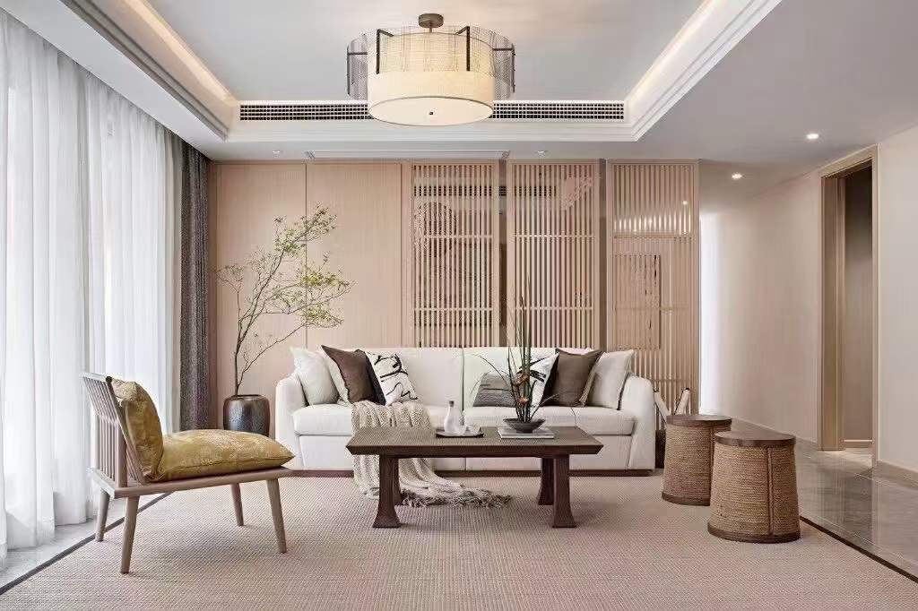 融信双杭城整装设计 新中式风格营造禅意的居家氛围